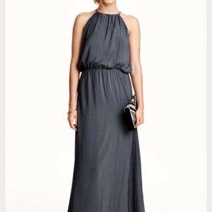 (Like new) Grey Blue Maxi Dress
